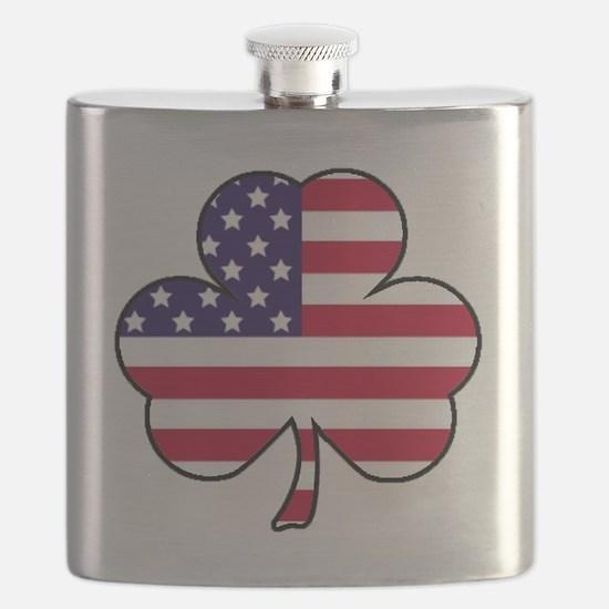 American shamrock Flask