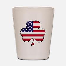 American shamrock Shot Glass