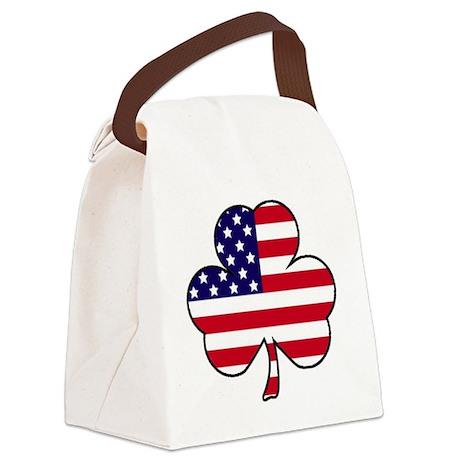 American shamrock Canvas Lunch Bag