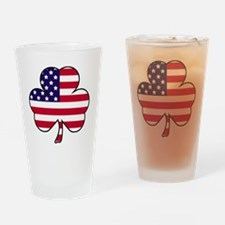 American shamrock Drinking Glass