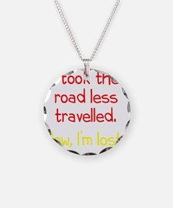 less-travelled2 Necklace