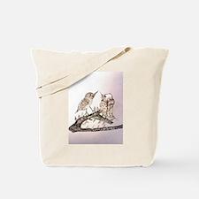 TomerTal two birds Tote Bag