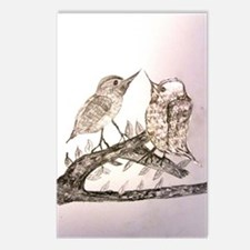 TomerTal two birds Postcards (Package of 8)