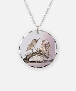 TomerTal two birds Necklace