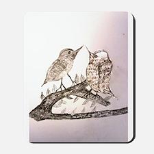 TomerTal two birds Mousepad
