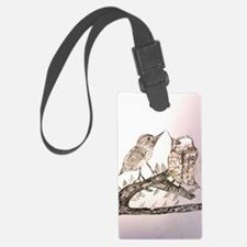 TomerTal two birds Luggage Tag