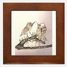 TomerTal two birds Framed Tile