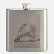 TomerTal two birds Flask