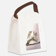 TomerTal two birds Canvas Lunch Bag
