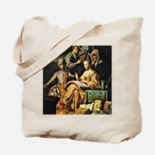 Rembrandt - Musical Allegory Tote Bag