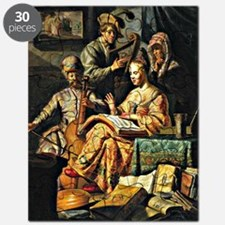Rembrandt - Musical Allegory Puzzle
