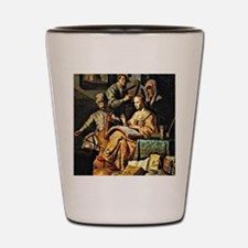 Rembrandt - Musical Allegory Shot Glass