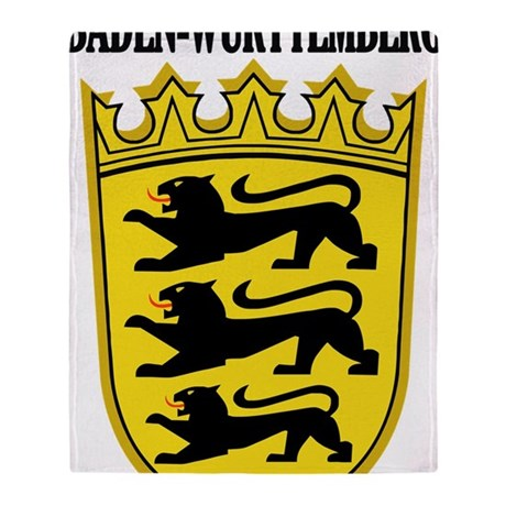 Baden-Wurttemberg COA2 Throw Blanket