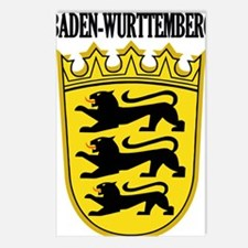 Baden-Wurttemberg COA2 Postcards (Package of 8)