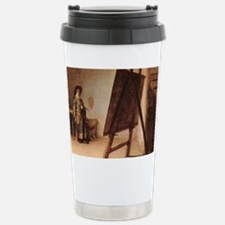 Rembrandt - Artist in his Studi Travel Mug