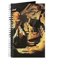 Rembrandt painting: Money Journal