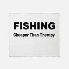 FISHING. Cheaper than Fishing. Throw Blanket