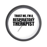 Trust Me, Im A Respiratory Therapist Wall Clock