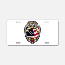 Police To Protect and Serve Aluminum License Plate