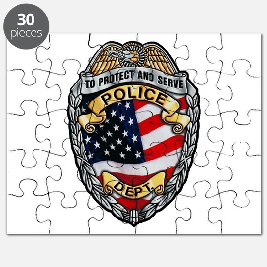 Police To Protect and Serve Puzzle