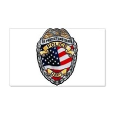 Police To Protect and Serve Wall Decal