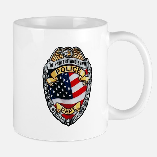 Police To Protect and Serve Mugs