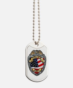 Police To Protect and Serve Dog Tags