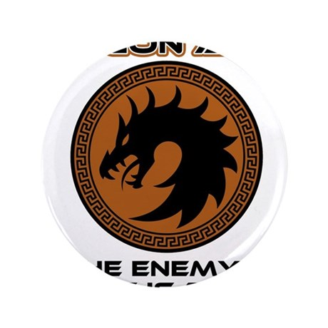 """Ender Dragon Army 3.5"""" Button (100 pack)"""