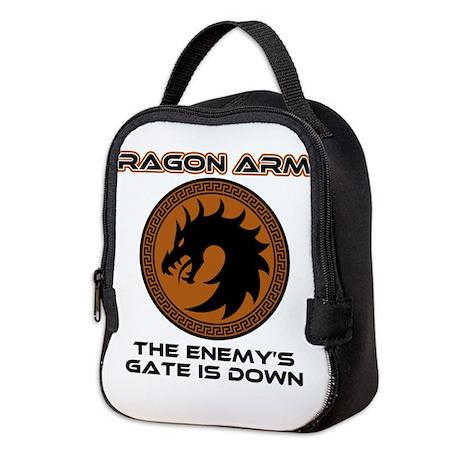 Ender Dragon Army Neoprene Lunch Bag