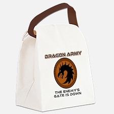 Ender Dragon Army Canvas Lunch Bag
