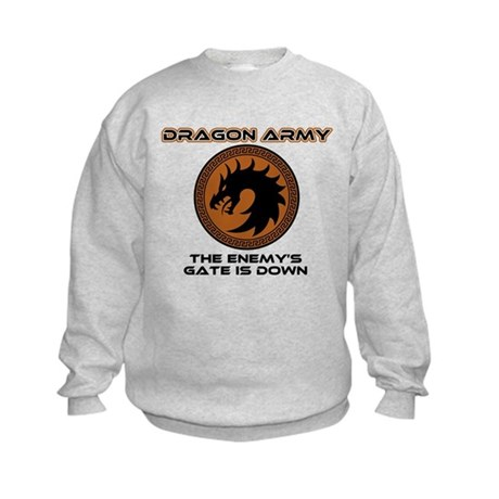 Ender Dragon Army Kids Sweatshirt