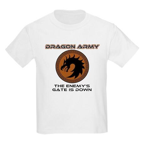 Ender Dragon Army Kids Light T-Shirt