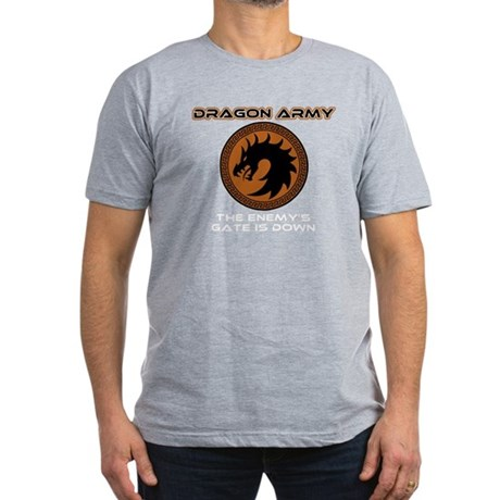 Ender Dragon Army Men's Fitted T-Shirt (dark)