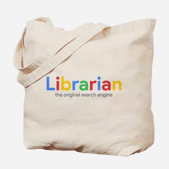 Librarian The Original Search Engine Tote Bag