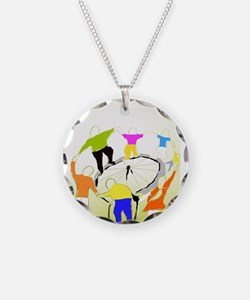 TomerTal dancing cyrcle Necklace