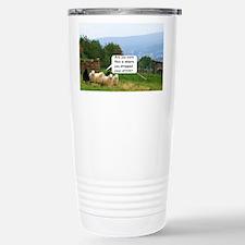 Drop Stitch Sheep Travel Mug
