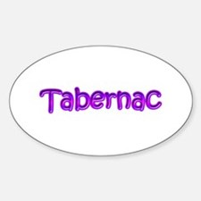Canadian French Tabernac Oval Decal