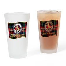 Macpherson Clan Drinking Glass