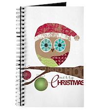 Hoo, Hoo, Hoo, Merry Christmas Journal