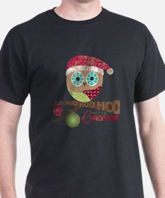 Hoo, Hoo, Hoo, Merry Christmas T-Shirt