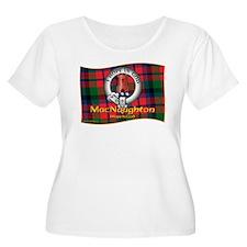 MacNaughton Clan Plus Size T-Shirt