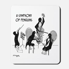Symphony of Penguins Mousepad