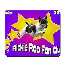 Rickie Roo Fan Club Mousepad
