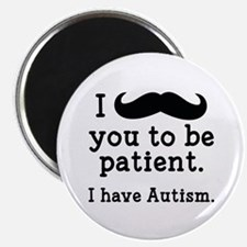 "I Have Autism 2.25"" Magnet (100 pack)"