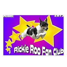 Rickie Roo Fan Club Postcards (Package of 8)