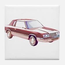 1983 Chrysler LeBaron Tile Coaster
