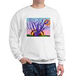 Purple Tree Of Life Sweatshirt