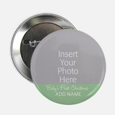 "1st Christmas Mint 2.25"" Button"