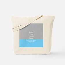 1st Christmas Baby BLue Tote Bag