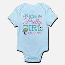Personalized Nana's Pretty Girl Infant Bodysuit